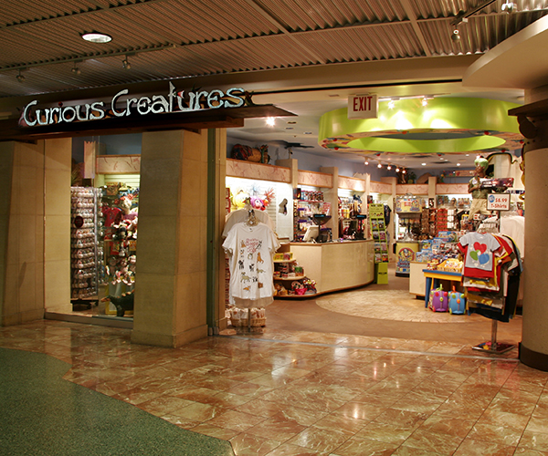 Curious Creatures Retail Airport